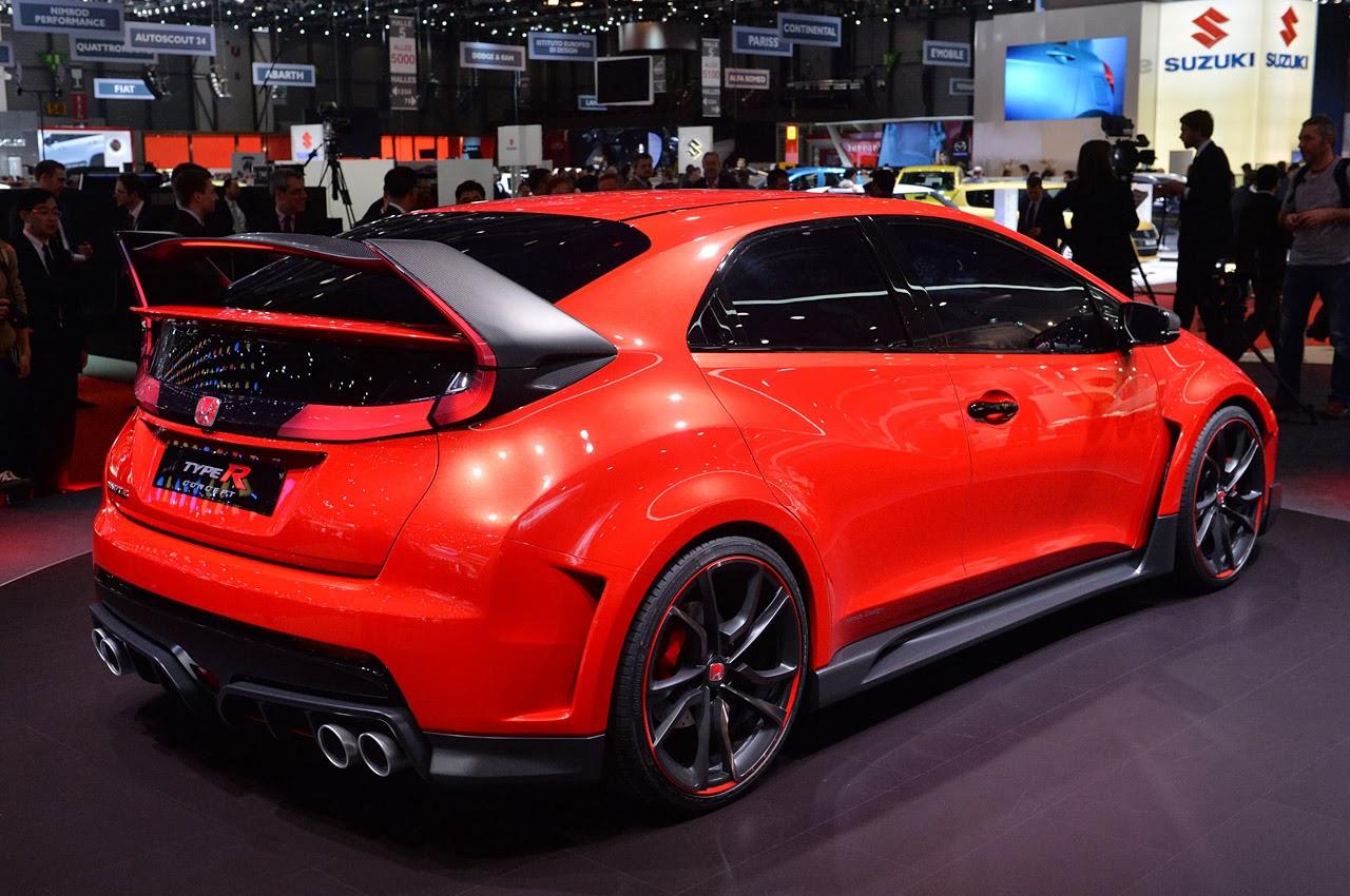© Automotiveblogz: Honda Civic Type R Concept: Geneva 2014 ...