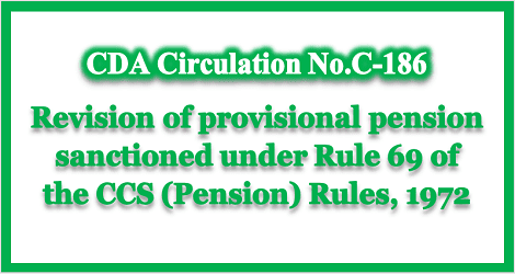 revision-of-provisional-pension-cgda-c-186