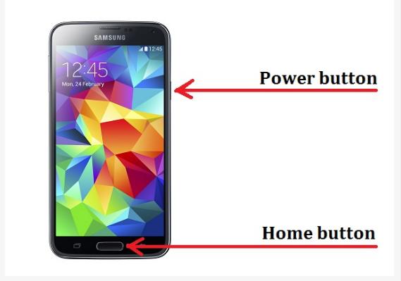 Cara Screenshot Samsung Galaxy S5 2