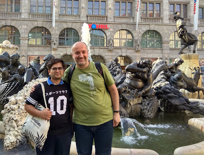 Amey and me in Nuremberg