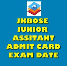 (J&K) JKBOSE Junior Assistant Admit Card 2019 OUT!!