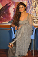 Actress Sony Charistha Latest Pos in Silver Saree at Black Money Movie Audio Launch  0027.jpg