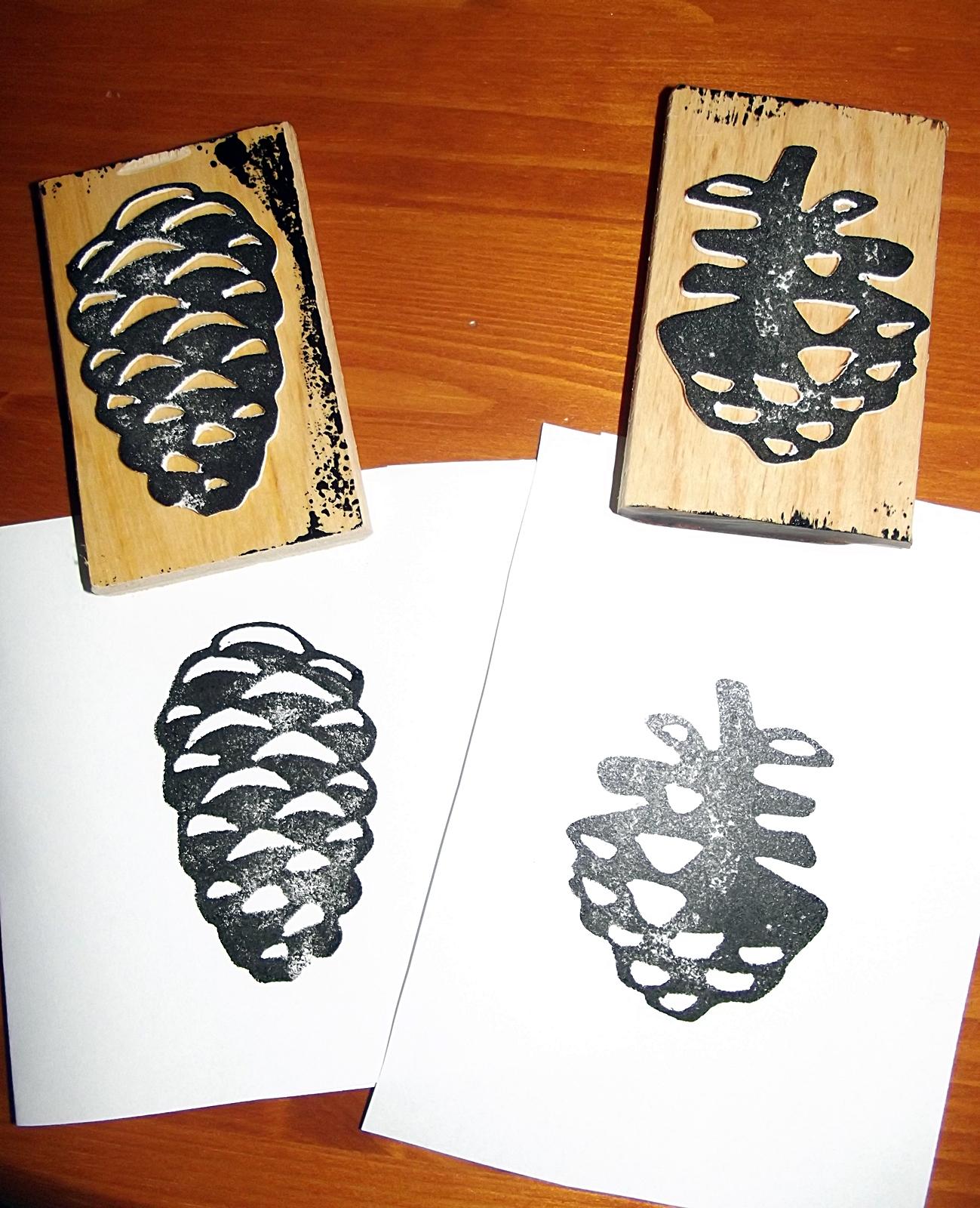 katrins kleine meisterwerke zapfenstreich stempel selbst gemacht. Black Bedroom Furniture Sets. Home Design Ideas