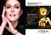 #Julianne Moore for #L'Oreal age perfect cell renewal