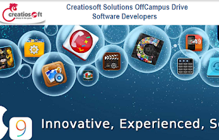 Creatiosoft Solutions OffCampus Drive: Software Developers
