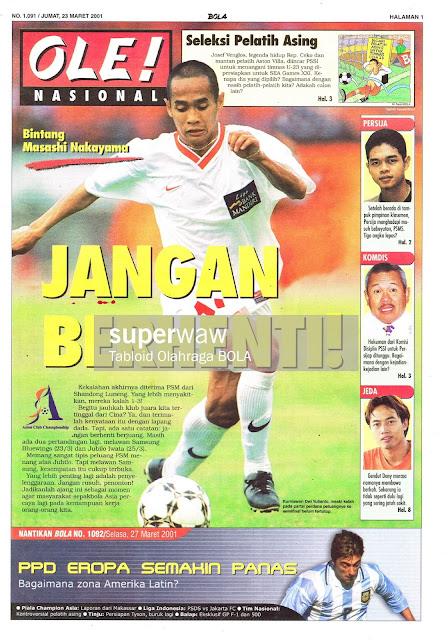 KURNIAWAN DWI YULIANTO LIGA INDONESIA 2002