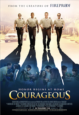 "Movie review: ""Courageous"" - separating the men from the boys"