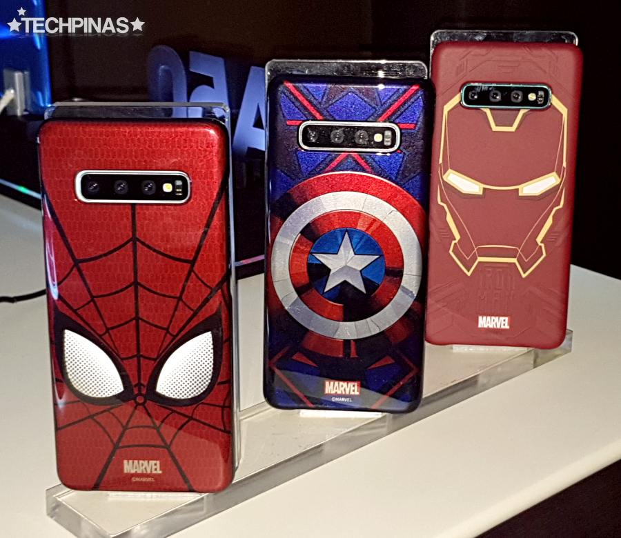 Samsung Galaxy S10+ Marvel Avengers Endgame Smart Cover Case