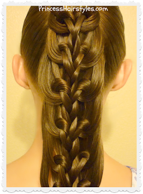Gorgeous kaleidoscope braid.  Easier than it looks.  Video instructions.