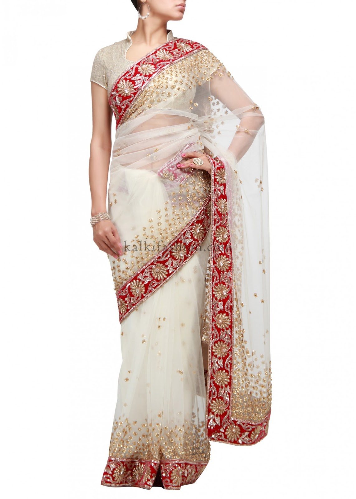 Lucknow Chikan Work Sarees Missy Lovesx3