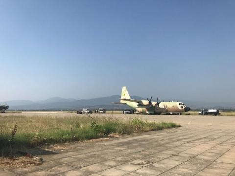 Israeli Air Force recount mission in Macedonia