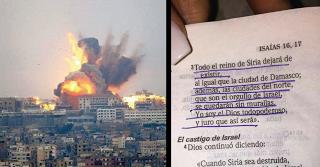 LA BIBLIA HABRÍA PREDICHO LOS ATAQUES EN SIRIA Y QUE VENDRÍAN COSAS MUCHO PEORES