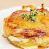 Recette Gâteau de pommes de terre au chèvre et au thym frais