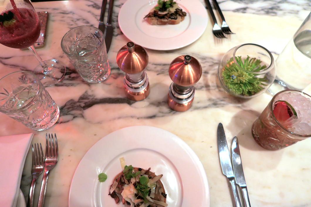 tigerlily edinburgh dine out menu