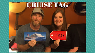Cruise Tag!  25 Questions – What We LOVE About Cruising!