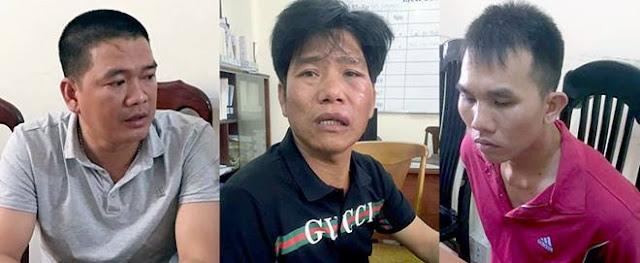 3 nghi phạm bị bắt trong vụ án