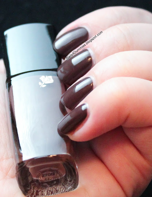 Nails4Dummies - Lancome Chocolat Mordore Swatch and Review