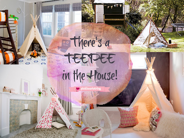 Add a Teepee in the House for a Fun and Exciting Whimsical Feel