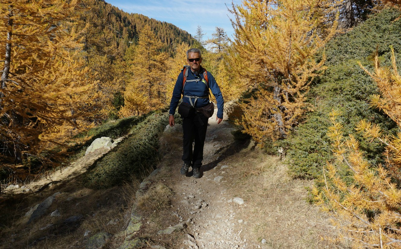 On the trail to Vallon de Prals
