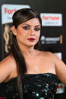 Glamarous Actress Neetu Chandra in Black dress at IIFA Utsavam Awards 006.JPG