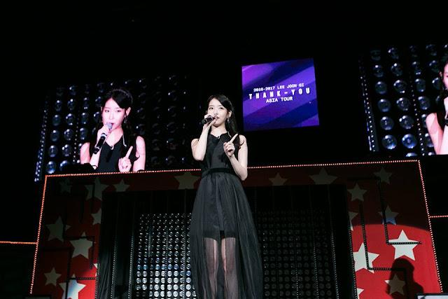四樹CP二度合體 IU現身李準基演唱會