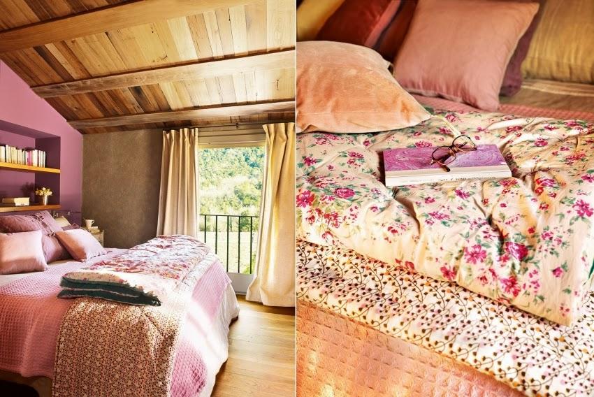 Hiszpański dworek z kamiennymi ścianami, wystrój wnętrz, wnętrza, urządzanie domu, dekoracje wnętrz, aranżacja wnętrz, inspiracje wnętrz,interior design , dom i wnętrze, aranżacja mieszkania, modne wnętrza, styl klasyczny, styl rustykalny, styl francuski, sypialnia