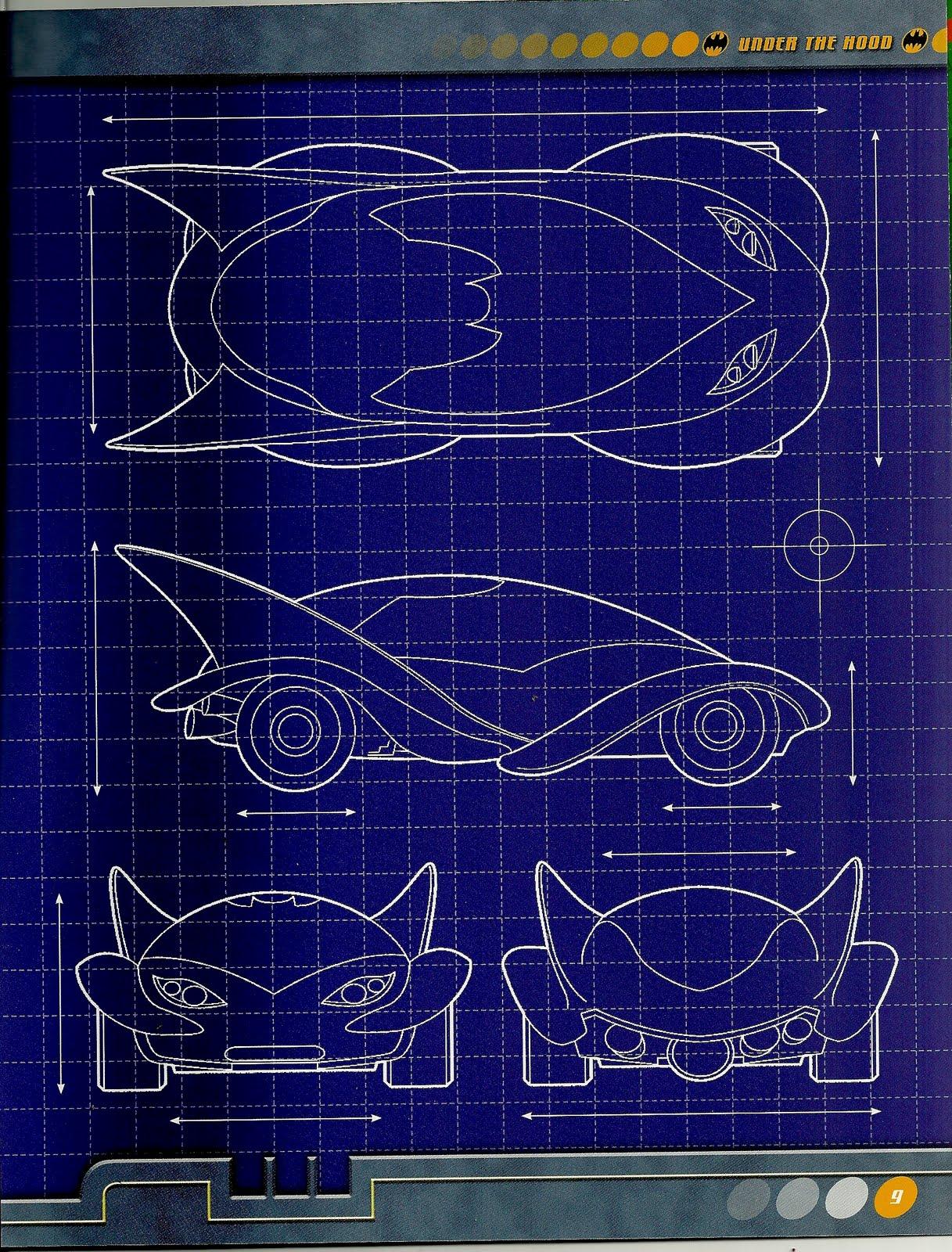 the bat blueprint