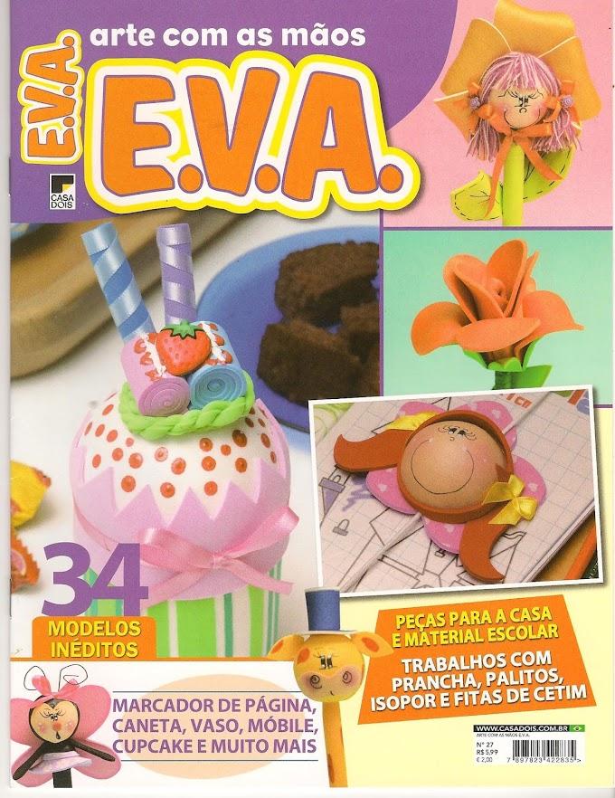 Arte Com as mãos E.V.A N°27