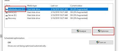 Optimize Hard Disk for Bad Sector