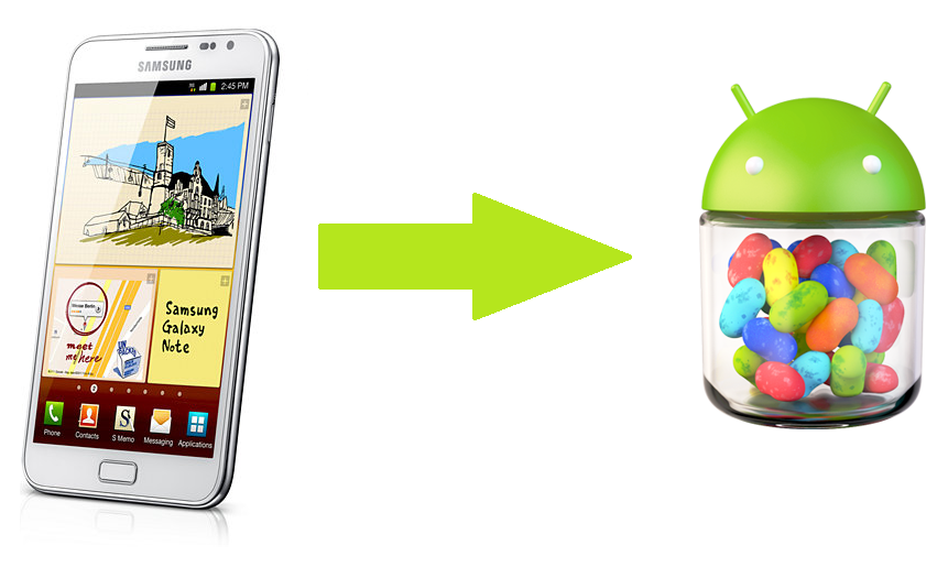 Update Galaxy Note N7000 to XXLT5 Android 4 1 2 Jelly Bean Official