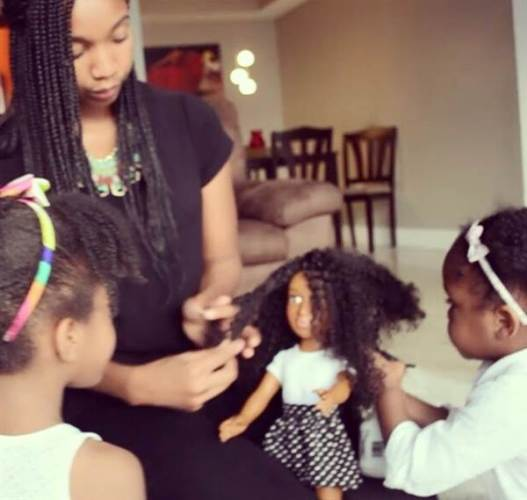 Mum Whose Daughter Wanted To Look Like Barbie Makes A New Doll To Teach Her About Natural Beauty