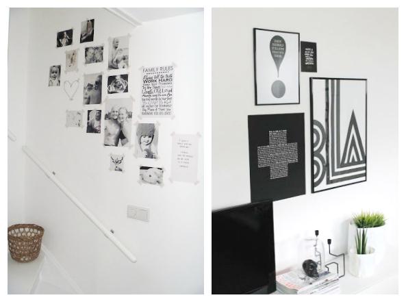 C mo decorar una pared la garbatella blog de decoraci n - Decorar las paredes con fotos ...