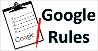 google rules for seo