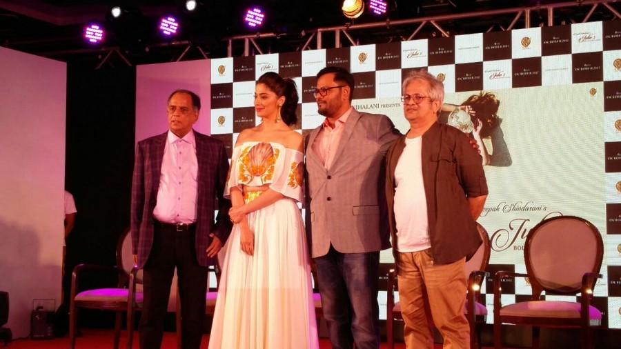 Raai Laxmi at Trailer Launch Event of 'Julie 2' at JW Marriott