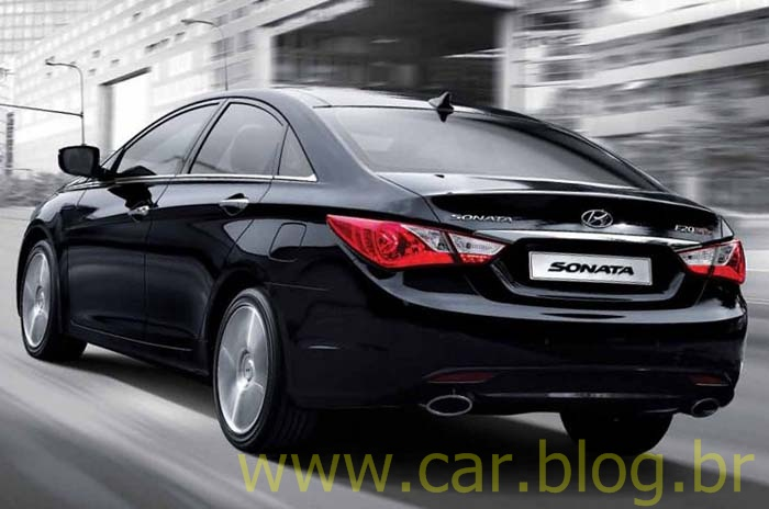 novo hyundai sonata 2012 recebe facelift e motor 2 0 turbo com 271 hp na cor ia do sul car blog br. Black Bedroom Furniture Sets. Home Design Ideas