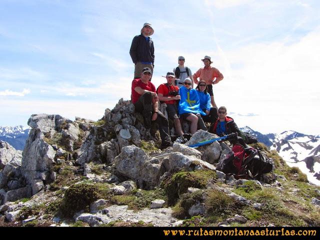 Ruta Farrapona, Albos, Calabazosa: Cima del Calabazosa