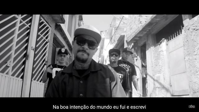 """Crônica Mendes lança o clipe """"Rua 6"""" com participação do Helibrown"""