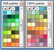 Fungsi Color Platers di CorelDraw