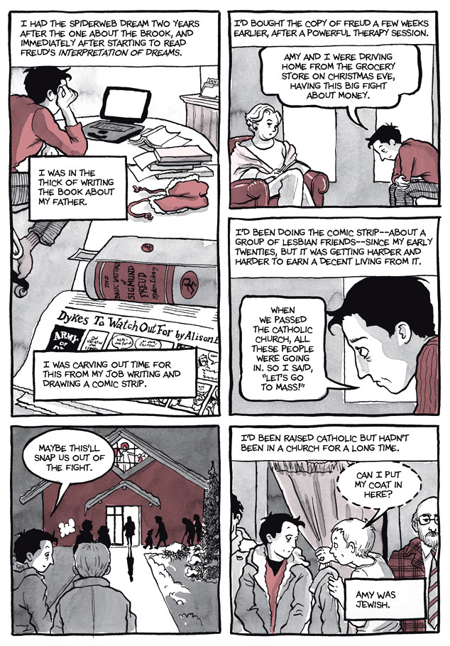 Page 4, Chapter 2: Transitional Objects from Alison Bechdel's graphic novel Are You My Mother