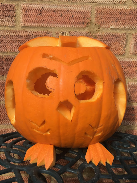simple owl pumpkin carving tutorial