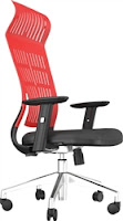 Modern Red Office Chair