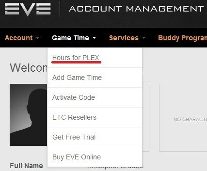 how to use plex eve