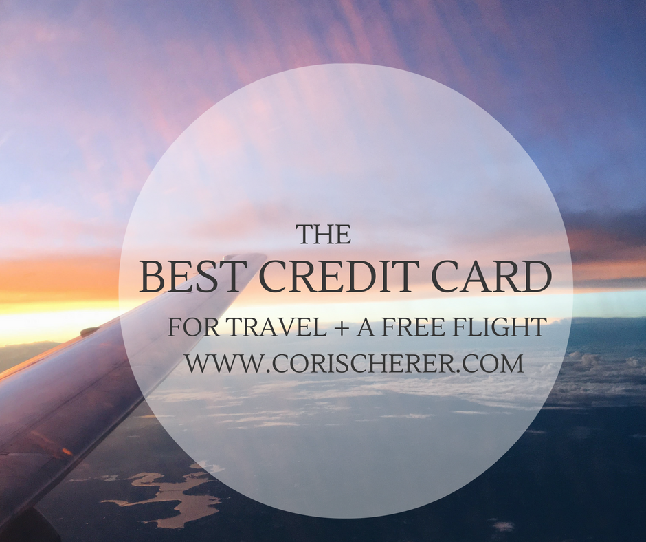 Credit Card for Travel Points