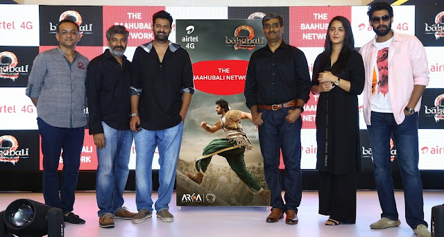 Airtel announces strategic partnership with 'Baahubali-2' to rollout special products and content for fans of India's most awaited mythological epic