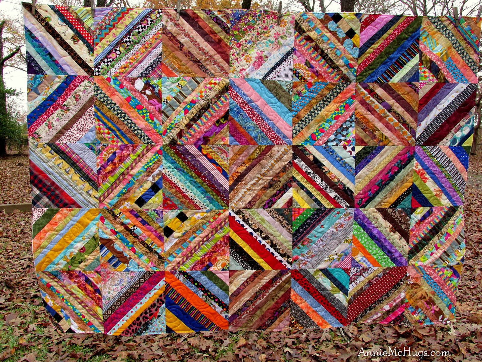 Kat Amp Cat Quilts October S String Quilts The First Of Many
