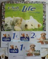 Logo Buoni sconto e calendario Club amici di Life