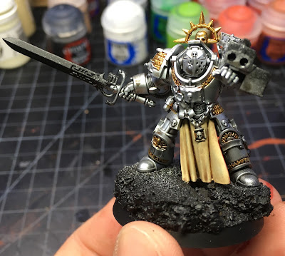 Grey Knight Brotherhood Champion WIP Front