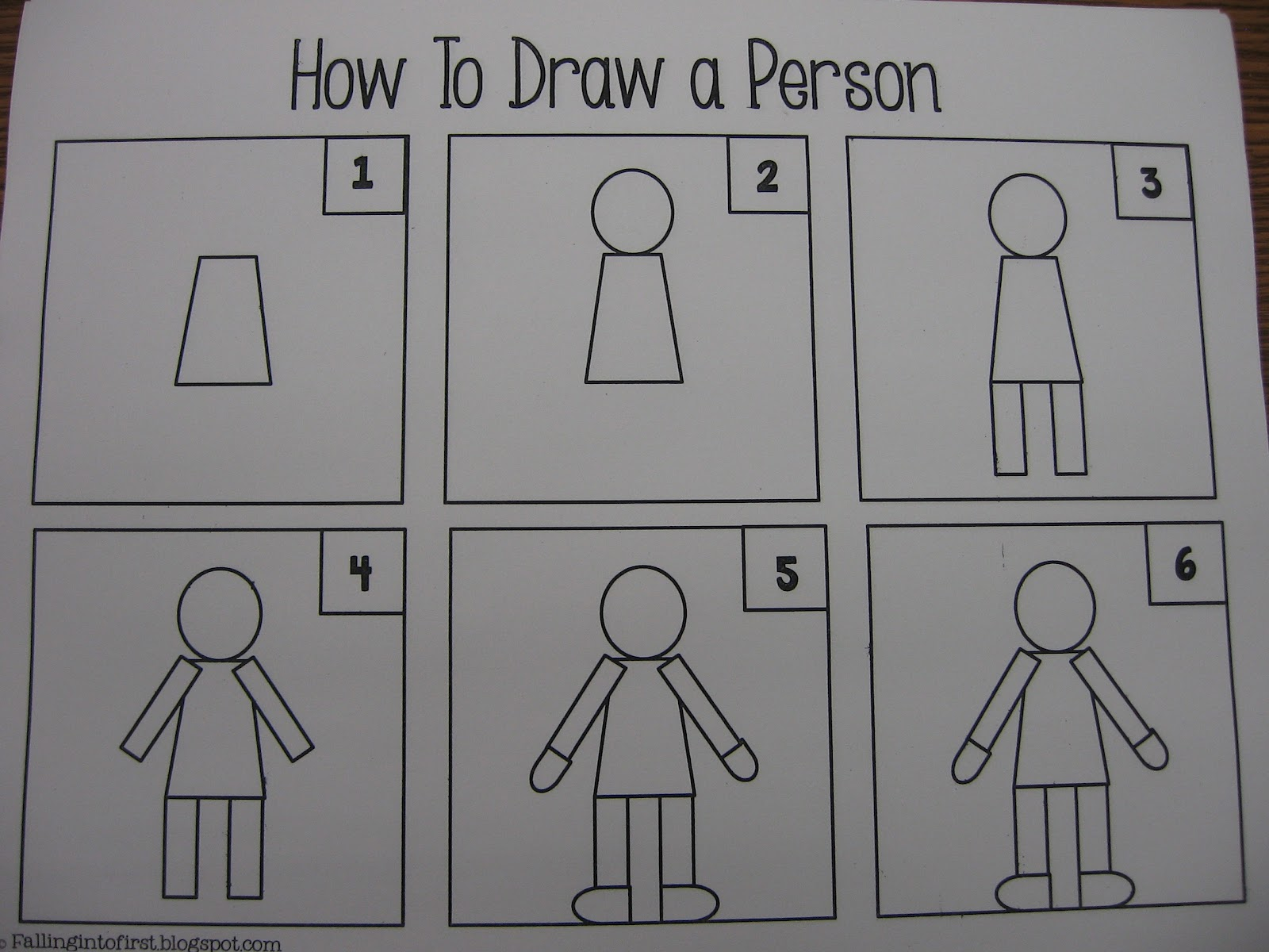 Kindergarten 12 13 How To Draw A Person