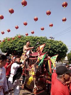 Merajut Harmoni Kebangsaan dalam Kirab Budaya Tahun Baru Imlek di Kota Mojokerto