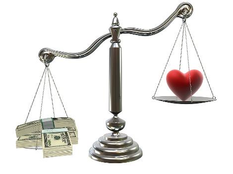 uang atau cinta